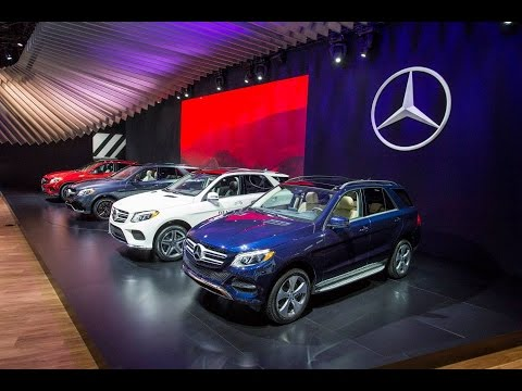Mercedes-Benz at NYIAS: 5 Things You Need to Know about the New GLE-Class