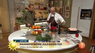 Video Leif Mannerströms klassiska julmat - Nyhetsmorgon (TV4) MP3, 3GP, MP4, WEBM, AVI, FLV Desember 2018