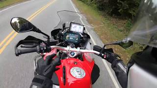 6. First Ride: 2018 R1200GS Adventure Racing Red with TFT