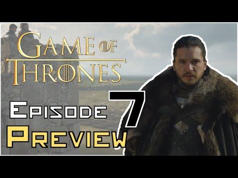 Game Of Thrones Season 7 EPISODE 7 Preview BREAKDOWN/ANALYSIS (видео)