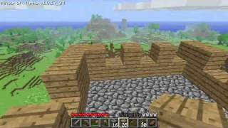 Minecraft Tutorials - 05 - How to Survive&Thrive (Your First House)