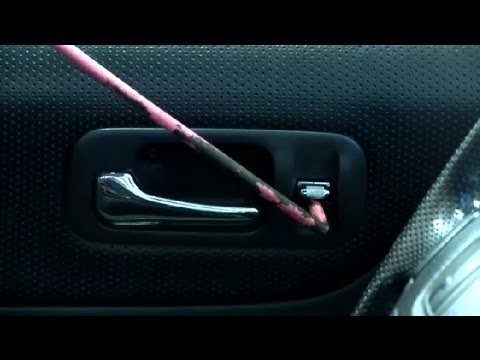 how to open a locked car - Subscribe Now: http://www.youtube.com/subscription_center?add_user=Ehowauto Watch More: http://www.youtube.com/Ehowauto If you've locked your keys in your ca...