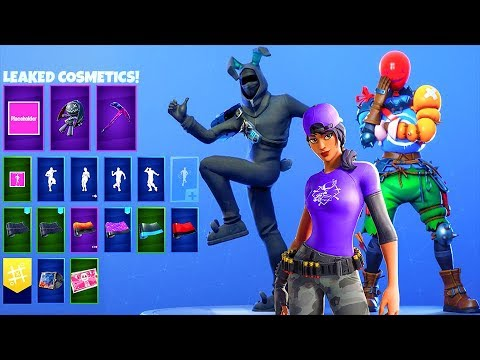All Fortnite Unreleased Skins..! (LEAKED Encrypted Skins) Fortnite Battle Royale