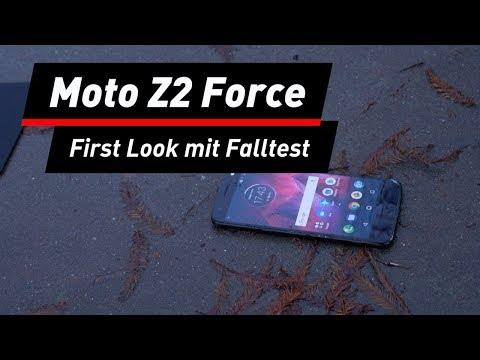 Moto Z2 Force: Ist das Display wirklich unkaputtbar ...