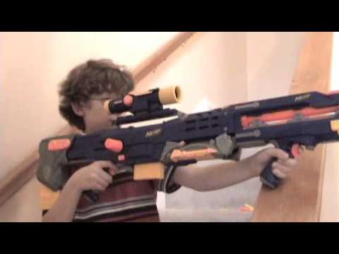 Nerf War: Candy Bar Part 1