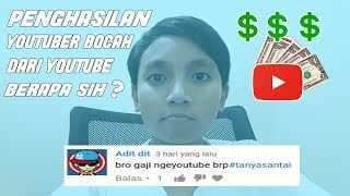Download Video PENGHASILAN YOUTUBER BOCAH? | Jawab Q&A SPECIAL 1K SUBS! MP3 3GP MP4