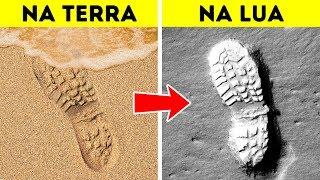 Por Que as Marcas de Pegadas Permanecem na Lua e Mais Outros 60 Fatos Divertidos
