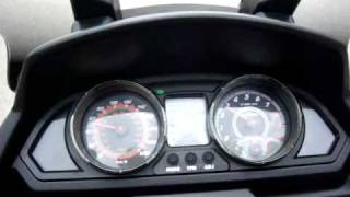 9. My Road 700 Kymco with Dr.Pulley HiT302001,   riding test1.MPG