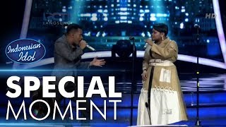 Video Joan duet dengan Judika menyanyi lagu dangdut - Spekta Show Top 3 - Indonesian Idol 2018 MP3, 3GP, MP4, WEBM, AVI, FLV Juli 2018