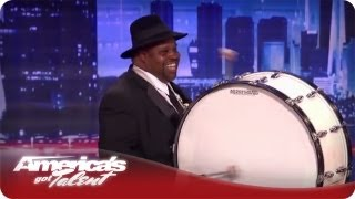 The Distinguished Men of Brass Make It Hot - America's Got Talent Season 7 Audition