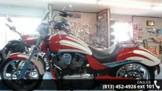 4. 2012 Victory Motorcycles Vegas Jackpot® - Pearl White, F...