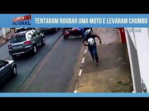 Foi roubar o policial e morreu!