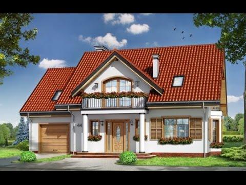 Projekt domu Julka 4 http://www.mgprojekt.com.pl/julka-4