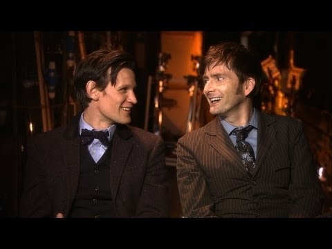 scenes - Visit http://www.bbc.co.uk/doctorwho for more Doctor Who videos, games and news. The two Doctors, Matt Smith and David Tennant, discuss life as a Time Lord...
