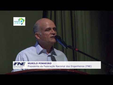 Palestra Murilo Pinheiro – Engenharia e desenvolvimento nacional: o protagonismo no enfrentamento da crise