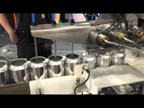 Tool Shed Brewing Company Canning day #1