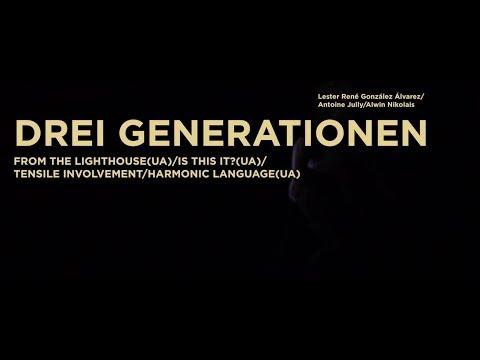 3 GENERATIONEN von Lester René González Álvarez/ Antoine Jully/Alwin Nikolais - Premiere 11.11.2017