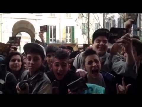 Salmo a Varese, l'attesa