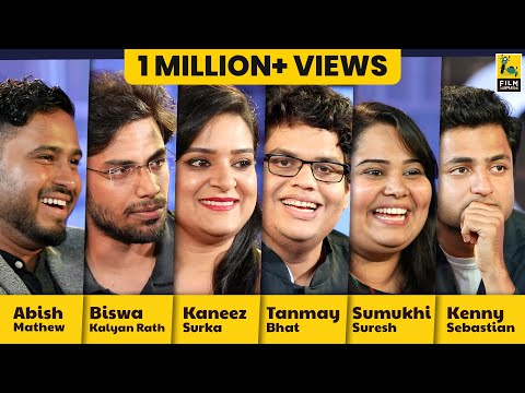 Interview With Tanmay, Kenny, Abish, Biswa, Kaneez and Sumukhi   Comicstaan