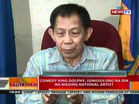 BT: Comedy King Dolphy, isinusulong na rin na maging National Artist