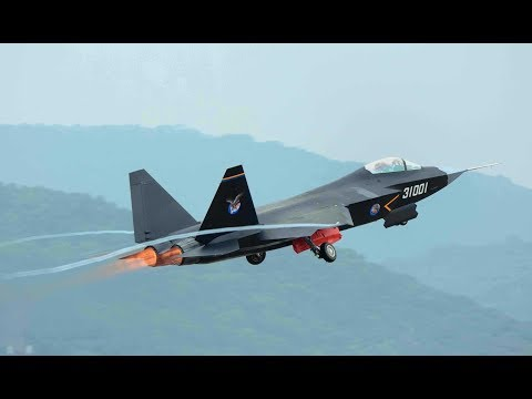 Shenyang J-31 Stealth Fighter Takeoff 2019