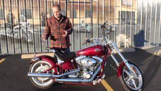 7. Pre-Owned 2009 Harley-Davidson Softail Rocker C