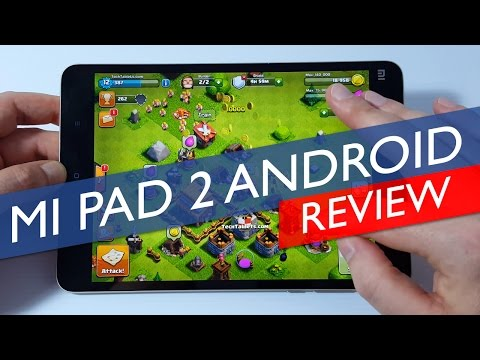 Xiaomi Mi Pad 2 Review - Android Version