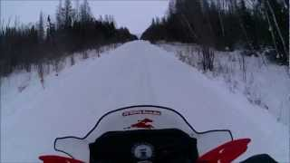 1. Polaris 550 IQ shift 73MPH.wmv