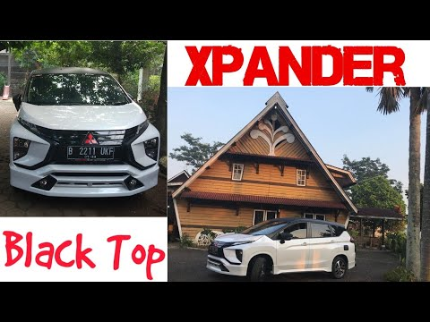 Xpander 04# Black Top Xpander Sticker Oracal Warna Hitam Doff
