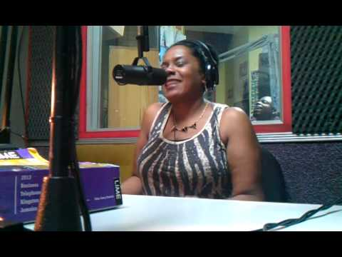 Ken Williams radio interview in Jamaica with Simone G live