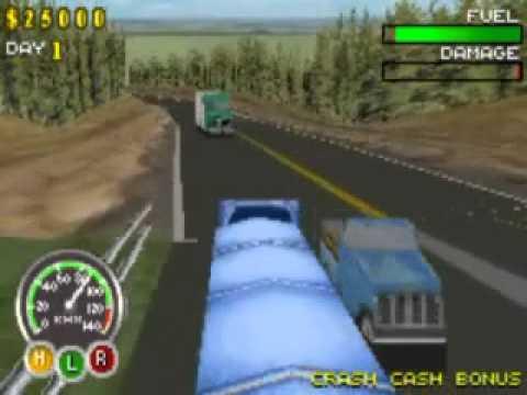 big mutha truckers gba cheats