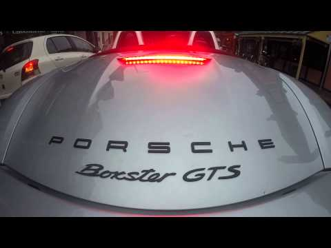 terror - A quiet run up Teddington High Street in the 2014 Porsche Boxster GTS. Well, it would have been quiet were it not for the Sport Auspuff and automatic throttle blipping action. Bang-ba-ba-bang,...