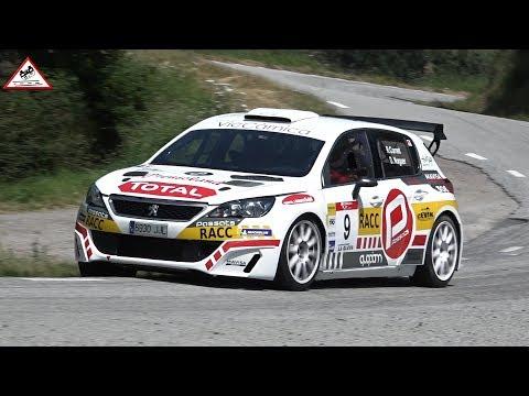 Peugeot 308 N5 | Cornet - Noguer | Rallye Osona 2018 [Passats de canto]