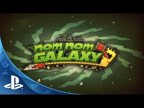 Nom Nom Galaxy - Launch Trailer | PS4