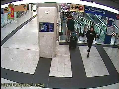 Stazione Centrale Milano, Ismail Tommaso Hosni: video dell'accoltellamento