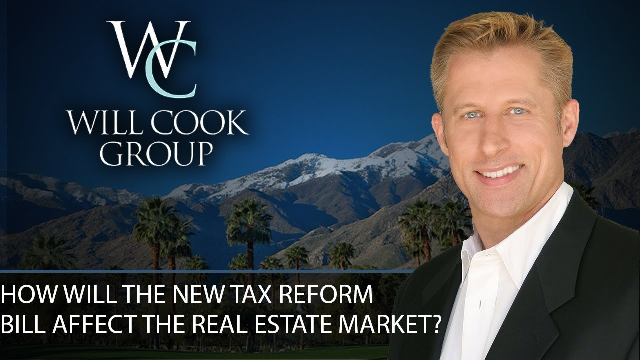4 Ways the New Tax Bill Will Impact the Real Estate Market