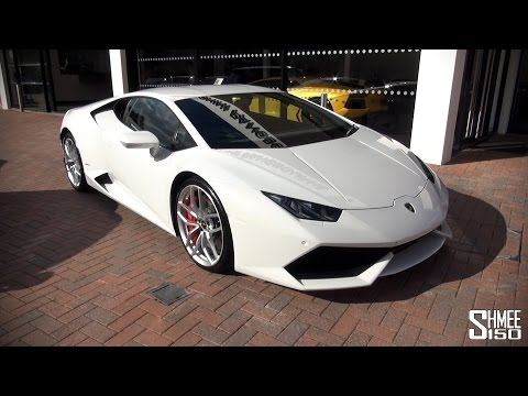 My First Drive in the Lamborghini Huracan LP610-4 [Shmee's Adventures]