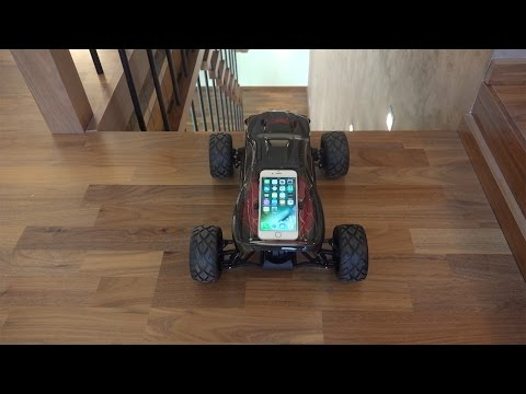iPhone 6S RC Car Down the Stairs Test! Will It Survive!?