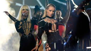 Iggy Azalea - Black Widow ft. Rita Ora (Live In MTV VMAs 2014)