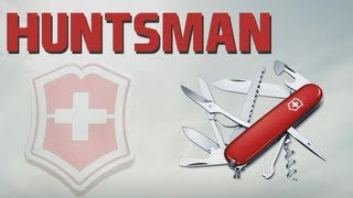 Vic Spain  city pictures gallery : VICTORINOX HUNTSMAN - SWISS ARMY KNIFE REVIEW