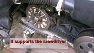 7. Scooter Roller weight changing With OUT IMPACT WRENCH Part 1