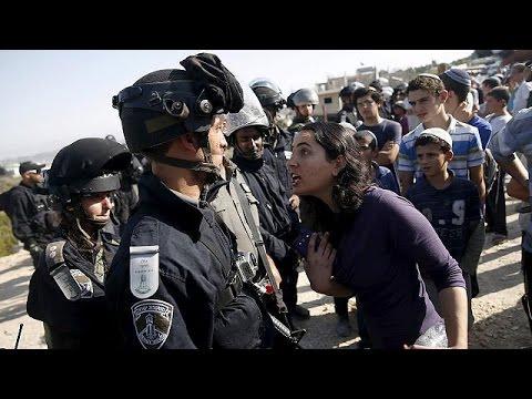 Ένταση μεταξύ εποίκων και αστυνομίας σε ισραηλινό οικισμό στη Δυτική Όχθη