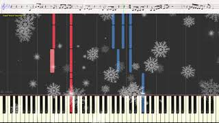 New Year - Regina Spektor (Ноты и Видеоурок для фортепиано) (piano cover)