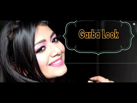 Navrati Garba Look || Garba Makeup Tutorial step by step || Indian festive Makeup