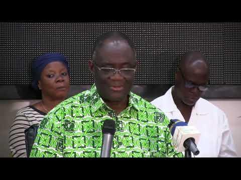 COTE D'IVOIRE: CONFERENCE DE PRESSE DU PDCI-RDA ANIMEE PAR GUIKAHUE