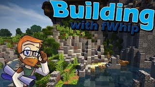Building with fWhip :: Landscaping the CASTLE CLIFFS :: #69 Minecraft 1.12 Single Player Survival