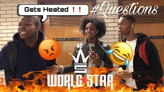 W•S•H•H QUESTIONS Ep 1  HOOD HIGH SCHOOL EDITION! Gets heated😡😬