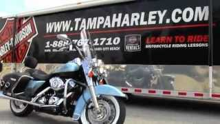 9. 2007 Harley Davidson Road King Classic FLHRC  For Sale Price Specs Review