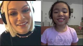 Video Flashlight JessieJ and Bernice Shane Quirante Sabino 9 y/o Pinay (Smule Sing)(Saipan-CNMI) MP3, 3GP, MP4, WEBM, AVI, FLV Agustus 2018