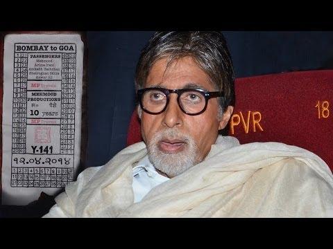 Amitabh Bachchan's Nostalgic Moment!
